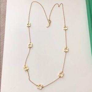 Kate Spade Gold Spade Necklace